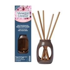 Yankee Candle Metallic Cherry Blossom Pre-Fragranced Reed Diffuser Kit