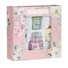 Yankee Candle Garden Hideaway Small Jar & 3 Votive Candle Gift Set