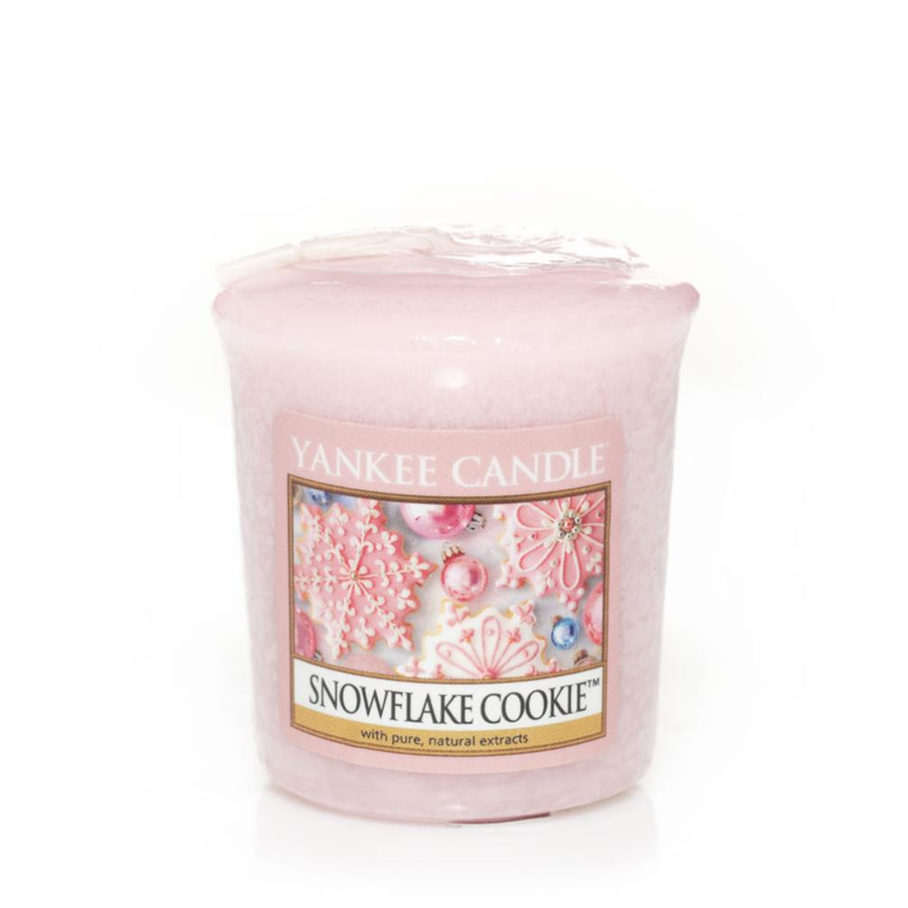 Yankee Candle Wax Melt Snowflake Cookie