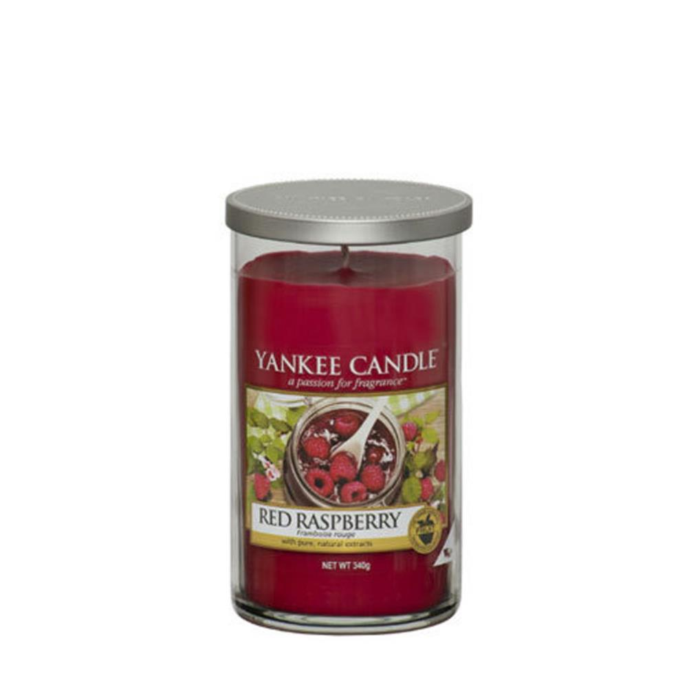 Yankee Candle Red Raspberry Medium Pillar Candle 1332329e