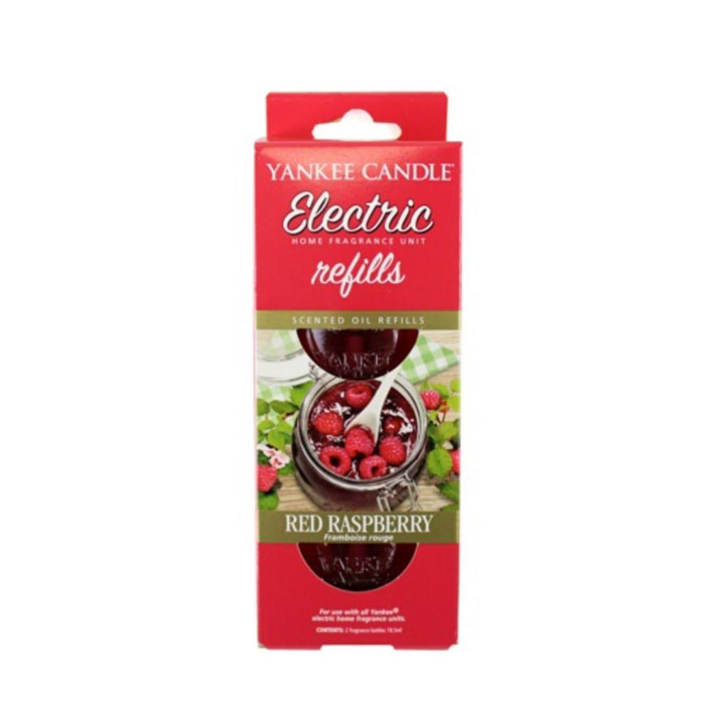Yankee Candle Red Raspberry Scent Plug Refills Pack Of 2