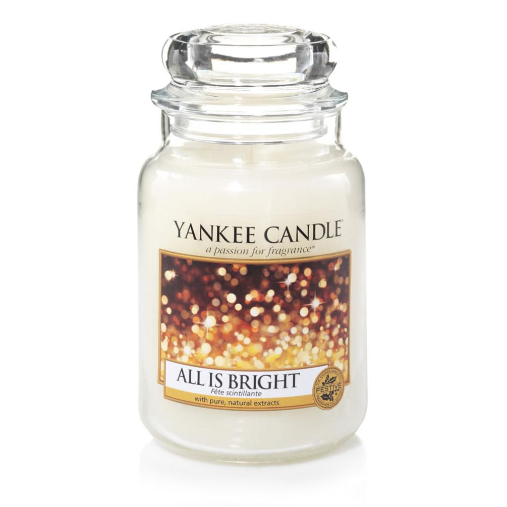 Yankee Candle All is Bright Large Jar (1513533E) - Candle ...