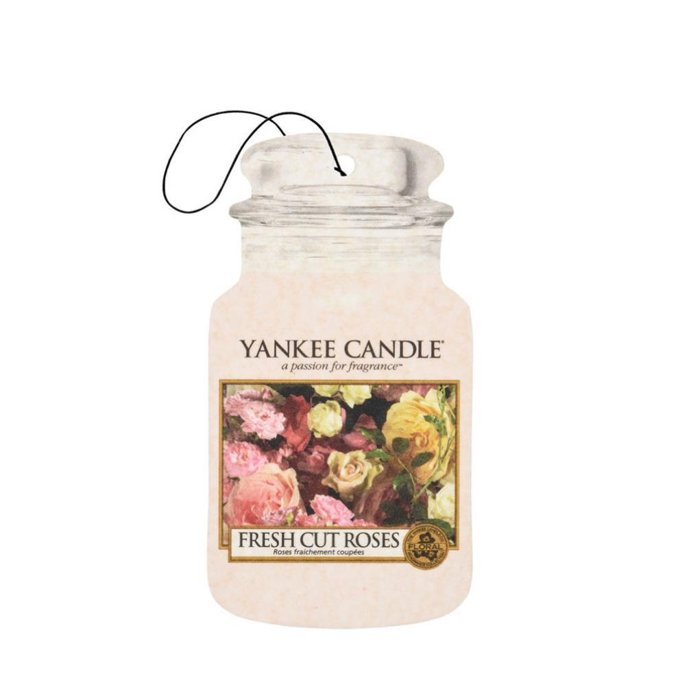 Yankee Candle Fresh Cut Roses Car Jar Air Freshener ...