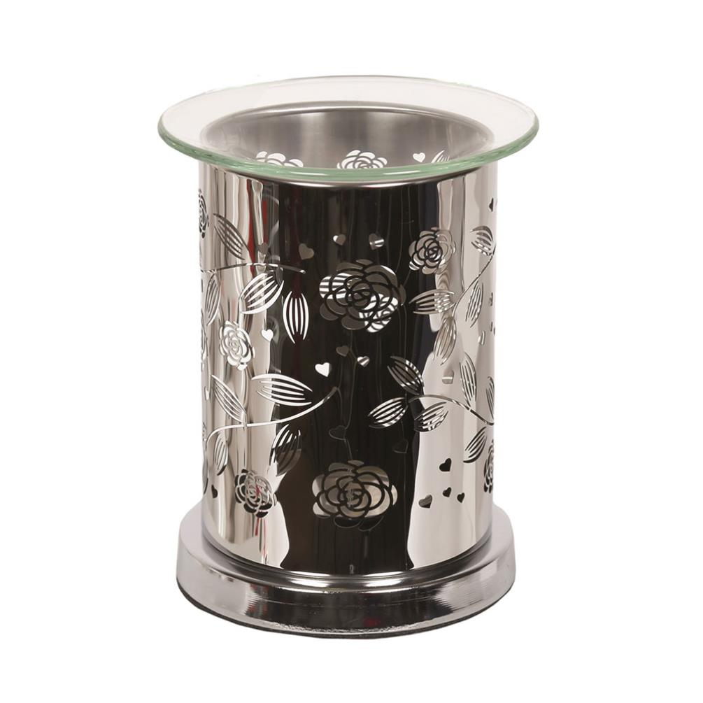 Floral Mirror Wax Melt Warmer (AR1325) - Candle Emporium