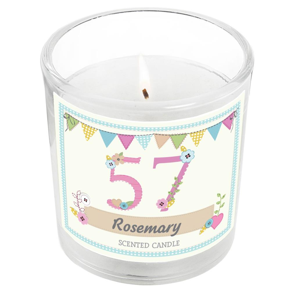 Superb Personalised Birthday Craft Scented Jar Candle P0512W33 Candle Funny Birthday Cards Online Unhofree Goldxyz